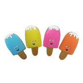 Pawsitively Gourmet Summer Popsicle Dog Cookie, Assorted - Front