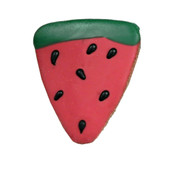 Pawsitively Gourmet Watermelon Slice Dog Cookie - Front