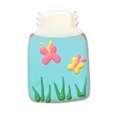 Pawsitively Gourmet Summer Mason Jar Dog Cookie - Front