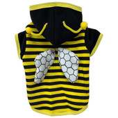 PetRageous Halloween Bumble Bee Dog Hoodie - Front