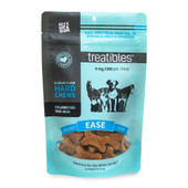 Treatibles Ease Full Spectrum Hemp Oil Hard Chews for Large Dogs - Front