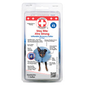 Remedy+Recovery Stay Rite Xtra Strong Inflatable Recovery Collar for Dogs