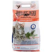 Better Way Cedar Formula Clumping Bentonite Cat Litter