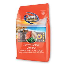 NutriSource Ocean Select Entree Grain Free Dry Cat Food