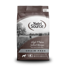 NutriSource High Plains Select Grain Free Dry Dog Food