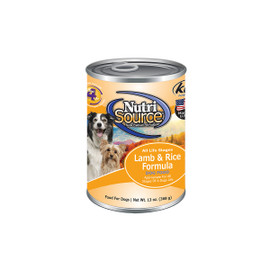 NutriSource Lamb & Rice Canned Dog Food