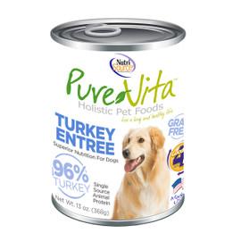 PureVita Turkey Entree Canned Dog Food