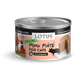 Lotus Pork Pate Recipe Canned Cat Food