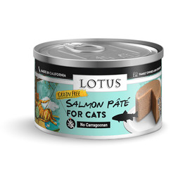 Lotus Salmon Pate Recipe Canned Cat Food