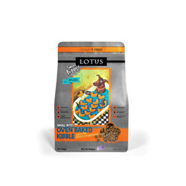 Lotus Small Bites Grain-Free Oven-Baked Duck Recipe Dry Dog Food