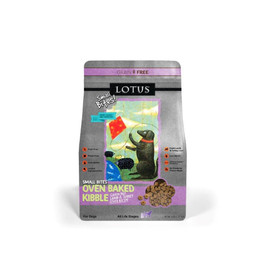 Lotus Oven-Baked Grain-Free Small-Bites Lamb & Turkey Liver Dry Dog Food