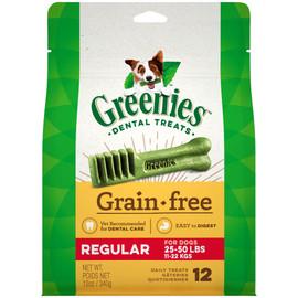 Greenies Grain Free Regular Size Dental Dog Treats