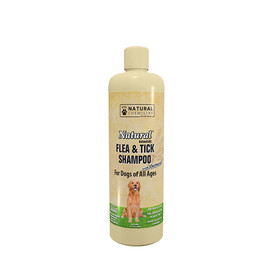 Natural Chemistry Flea & Tick Shampoo with Oatmeal for Dogs