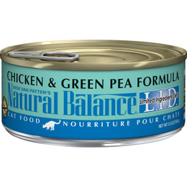 Natural Balance Limited Ingredient Diets Chicken & Green Pea Formula Canned Cat Food - Front