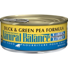 Natural Balance Limited Ingredient Diets Duck & Green Pea Formula Canned Cat Food
