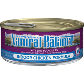 Natural Balance Ultra Premium Indoor Formula Canned Cat Food