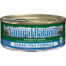 Natural Balance Ultra Premium Ocean Fish Formula Canned Cat Food
