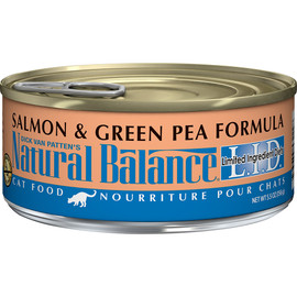 Natural Balance Limited Ingredient Diets Salmon & Green Pea Formula Canned Cat Food