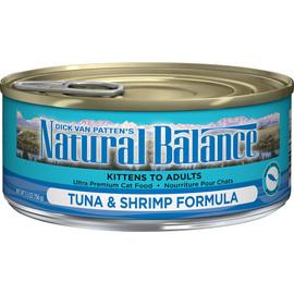 Natural Balance Ultra Premium Tuna & Shrimp Formula Canned Cat Food