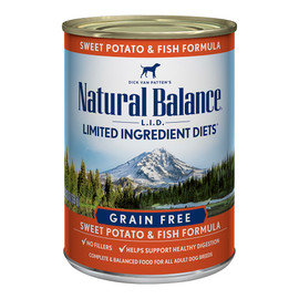 Natural Balance Limited Ingredient Diets Sweet Potato & Fish Formula Canned Dog Food