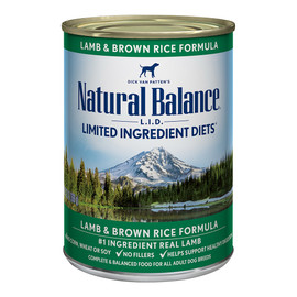 Natural Balance Limited Ingredient Diets Lamb & Brown Rice Formula Canned Dog Food