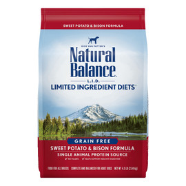 Natural Balance Limited Ingredient Diets Sweet Potato & Bison Formula Dry Dog Food