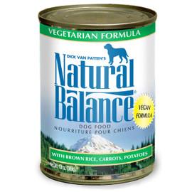 Natural Balance Vegetarian Formula Canned Dog Food