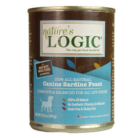 Nature's Logic Canine Sardine Feast Canned Dog Food