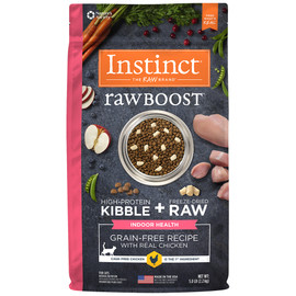 Instinct Raw Boost Grain-Free Recipe with Real Chicken for Indoor Health Dry Cat Food