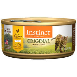Instinct Original Real Chicken Recipe Canned Cat Food - Front