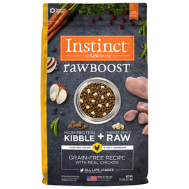 Instinct Raw Boost Grain-Free Recipe with Real Chicken Dry Dog Food