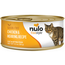 Nulo Freestyle Cat & Kitten Chicken & Herring Recipe Canned Cat Food