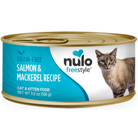 Nulo Freestyle Cat & Kitten Salmon & Mackerel Recipe Canned Cat Food