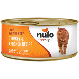 Nulo Freestyle Cat & Kitten Turkey & Chicken Recipe Canned Cat Food