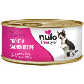 Nulo Freestyle Cat & Kitten Trout & Salmon Recipe Canned Cat Food