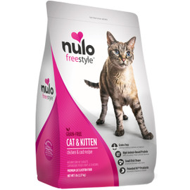 Nulo Freestyle Cat & Kitten Chicken & Cod Recipe Dry Cat Food