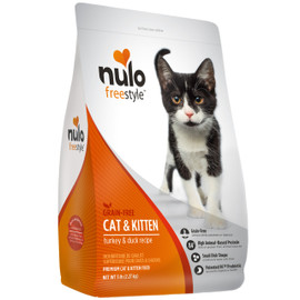 Nulo Freestyle Cat & Kitten Turkey & Duck Recipe Dry Cat Food
