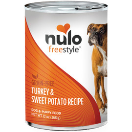 Nulo Freestyle Adult Turkey & Sweet Potato Canned Dog Food