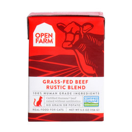Open Farm Grass-Fed Beef Rustic Blend Wet Cat Food