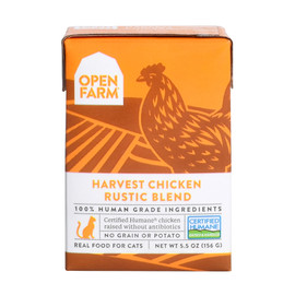 Open Farm Harvest Chicken Rustic Blend Wet Cat Food