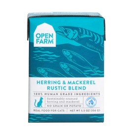 Open Farm Herring & Mackerel Rustic Blend Wet Cat Food