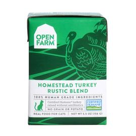 Open Farm Homestead Turkey Rustic Blend Wet Cat Food
