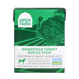 Open Farm Homestead Turkey Rustic Stew Wet Dog Food