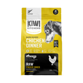 Kiwi Kitchens Barn Raised Chicken Dinner Raw Freeze Dried Dog Food