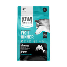Kiwi Kitchens Wild Caught Fish Dinner Raw Freeze Dried Dog Food