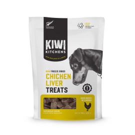 Kiwi Kitchens Raw Freeze Dried Chicken Liver Dog Treats