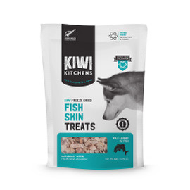 Kiwi Kitchens Raw Freeze Dried Fish Skin Dog Treats