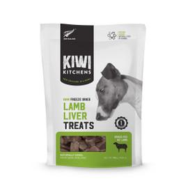 Kiwi Kitchens Raw Freeze Dried Lamb Liver Dog Treats