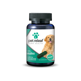 Pet Releaf Hemp Oil Capsules for Large Dogs