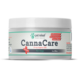 Pet Releaf Canna Care Topical CBD Cream for Dogs